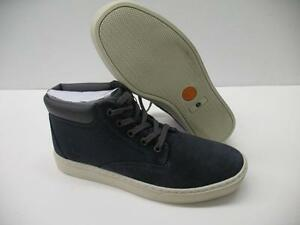 Timberland A14HK Ortholite Dauset Chukka Casual Suede Shoes Blue White Mens 7