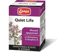 Lanes Quiet Life Herbal Sedative Relief From Stress And Insomnia 50 Tablets