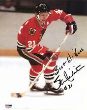 STAN MIKITA (Chicago Blackhawks) autographed 8x10 photo RP
