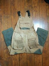 Browning Men's Hunting Bib Medium brown with shell pouch