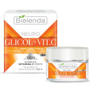 Bielenda Neuro Glicol + Vitamin C Anti-wrinkle Day Face Cream SPF20 50ml