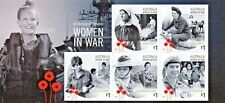 AUSTRALIA 2017-A CENTURY OF SERVICE WOMEN IN WAR MINI SHEET MUH