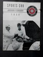1958 SCCA Sports Car Club of America Pebble Beach,Mickey Thompson,Carroll Shelby
