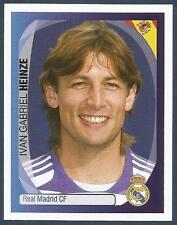 PANINI UEFA CHAMPIONS LEAGUE 2007-08- #338-REAL MADRID-ARGENTINA-GABRIEL HEINZE