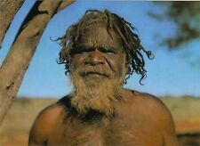 AK Australien: Porträt: Mann der Pitjantjara - Australian Aboriginal Elder