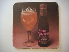 Vintage Beer Drink Coaster ~*~ PINK PANTHER Wine ~ Grand Vin de Bordeaux, FRANCE