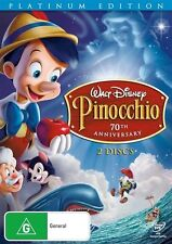 Pinocchio (DVD, 2012, 2-Disc Set)