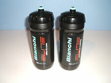BIANCHI WATER BOTTLE BLACK CORSA BIO TEAM  by ELITE x 2
