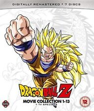 Dragon Ball Z Movie Complete Collection: Movies 1-13 + TV Specials (Blu-ray)