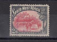 South West Africa 1931 2s 6d Zebra SG82 VFU J1439