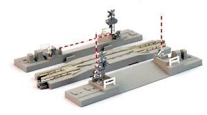 "N Scale KATO UNITRACK 20-027-1 Crossing Gate & Rerailing Track 4 7/8"" 124mm 1pc"