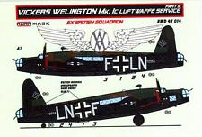 KORA Models PAINT MASKS 1/48 VICKERS WELLINGTON Mk.IC ex-British Squadron Part 3