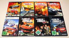 8 PC juegos set-alarma para cobra 11-Nitro sindicato Highway Nights Crash Time