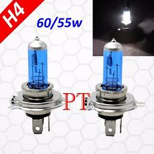 H4 9003 HB2 12V 60/55W Halogen Headlight Light Lamp Bulbs 5000K Super White