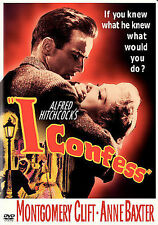 I Confess (DVD, 2004) Montgomery Clift and Anne Baxter by Alfred Hitchcock