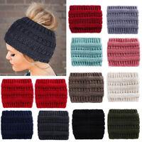 Ladies Women Knit Headbands Winter Warm Head Wrap Wide Hair Accessories Hat
