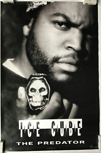 Ice Cube The Predator Vintage Hip Hop Poster