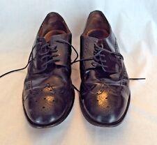 Cole Haan Men's Black Air Carter Wing Tip Dress Shoes Air Sole Size 11 M