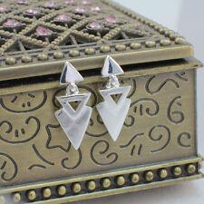 Wholesale, 925 Sterling Silver Small Dangling Earrings , Aztec Geometric Design