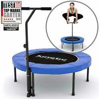 Fitness Trampoline Sports Jumper Mini Rubber Rope Suspension To 120kg Blau