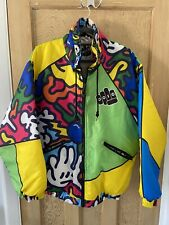 Retro Ski Jacket, Crazy colourful design!!! Rip stop material and waterproof