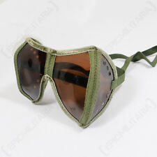 Tank Goggles and Case - Post WW2 Surplus Panzer Safely Glasses With Case Army