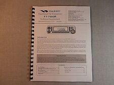 "Yaesu FT-7900R Service Manual: With full Set of 11""X17"" Foldouts!"