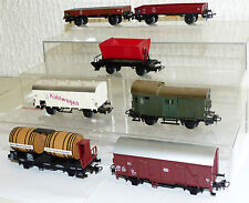 7x Märklin Güterwagen: 4432, 4411, 307, 4513, 4600, 4503 H0