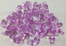 60 Lilac Mini Dummy Charms Baby Pacifiers Shower Favors Party Game Decoration