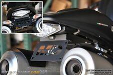 09-14 Ducati Monster 696 Complete Fender Eliminator Kit w/ LED Plate Light