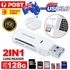 USB 3.0 SD SDHC SDXC Micro SD Micro SDXC UHS-I TF T-Flash Memory Card Reader OZ