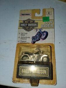 Matchbox Harley Davidson Low Rider Silver/Black. 1992 UNOPENED PACKAGE.