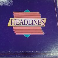 """Vintage """"Headlines"""" by Databrowse Ltd 1996. (New & Sealed)."""