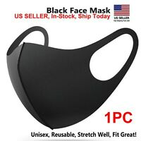 Black Pro Fashion MASK Washable Reusable & Breathable US seller  IN-STOCK
