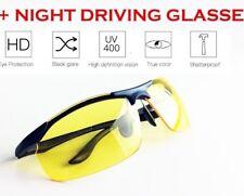 HD Visione notturna occhiali di guida per gli uomini anti-riflesso sport Aviatore Occhiali Da Sole