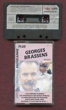 K7 Audio - Georges Brassens - Programme plus - Volume 3 - Compilation
