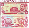 NICARAGUA -    5 CENTAVOS 1991 - Sign Variety 2 - P 168  - FDS / UNC
