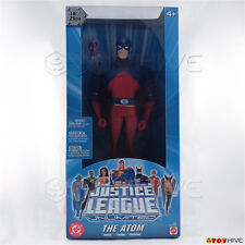 Justice League Unlimited The Atom 10 inch vinyl figure DC JLU sealed blue box