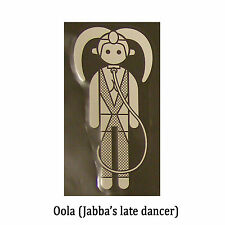 Star Wars Decal: Oola (70x130mm) Jabba's dancer.