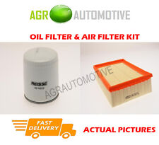 PETROL SERVICE KIT OIL AIR FILTER FOR FORD ESCORT 2.0 150 BHP 1991-95