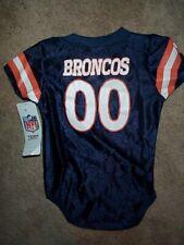 Denver Broncos #00 nfl INFANT BABY NEWBORN Jersey 3-6 M 3-6M 3-6 Months
