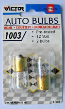 Victor 1003 Automotive Bulbs New Pair in Package for Dome, Courtesy, Indicator