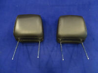 05 06 07 08 09 Ford Mustang Charcoal Headrest Pair Left Right Headrests Used #1