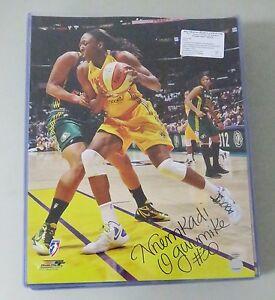 122815 Nnemkadi Nneka Ogwumike Signed 16x20 WNBA Photo Autograph LEAF COA