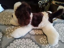 People Pals Brown And White Dog Plush