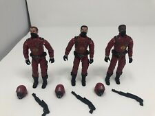 GI JOE ~ 2004 CRIMSON GUARD TROOPERS ~ OPERATION CRIMSON SABOTAGE ~100%
