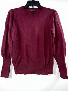 Banana Republic Dark Burgundy Long-sleeves Crew neck sweater Women's size PS