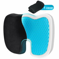 Cooling Gel Seat Cushion Non-Slip Cover Breathable Chair Seat Memory Pillow US