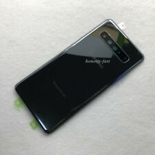 For Samsung Galaxy S10 5G G977 OEM Battery Cover Back Glass Replace +Camera Lens