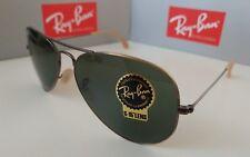 NEW !!Ray Ban Aviator 3026 167/ Sunglasses Bronze G=15 LenS 3025